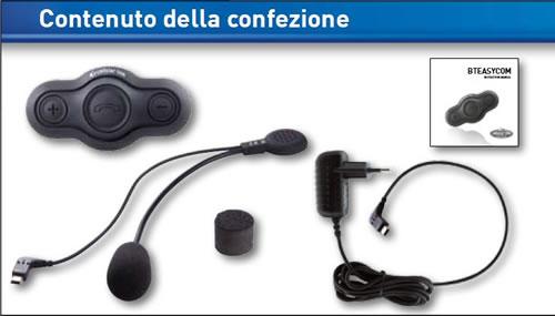 Cellular Line Interphone Bluetooth COM Single BTEASY
