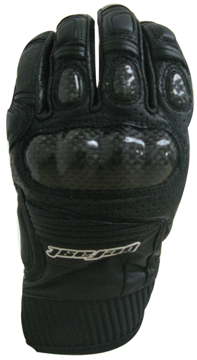 Befast Octan Evo summer leather gloves Black