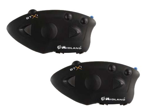 Interfono universale Bluetooth Midland BTX1 Twin per 2 caschi