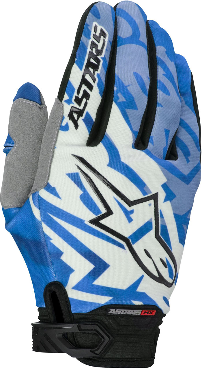 Gloves Alpinestars Racer Cross Blue Black