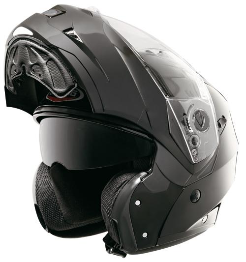 Caberg DUKE flip-off helmet Metal Black