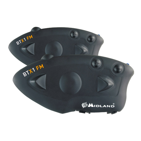 Interfono Midland BTX1 FM Kit per due caschi