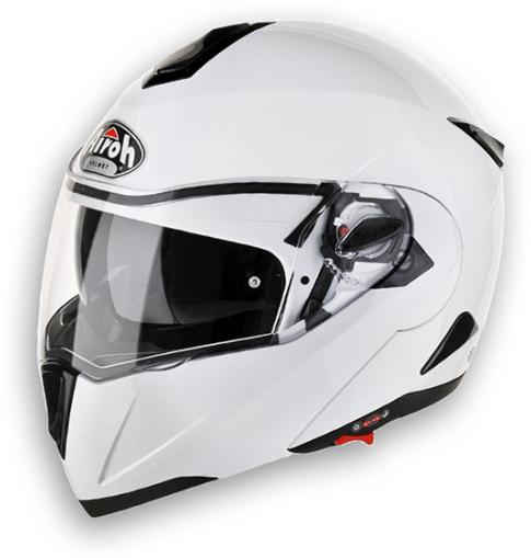 Airoh C-100 Color modular helmet white gloss homolg. P-J