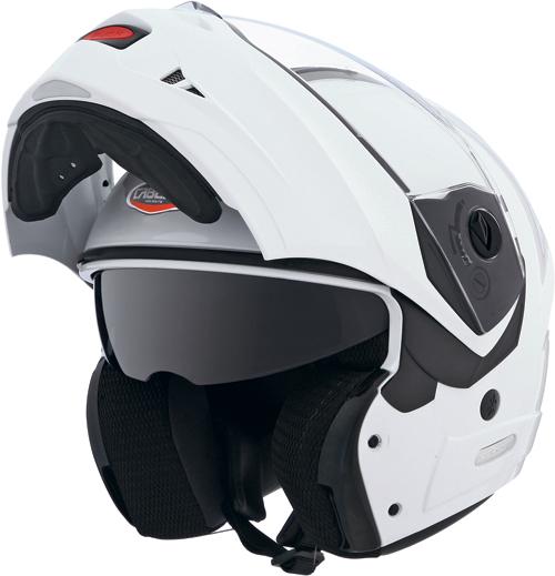Casco moto Caberg Konda bianco