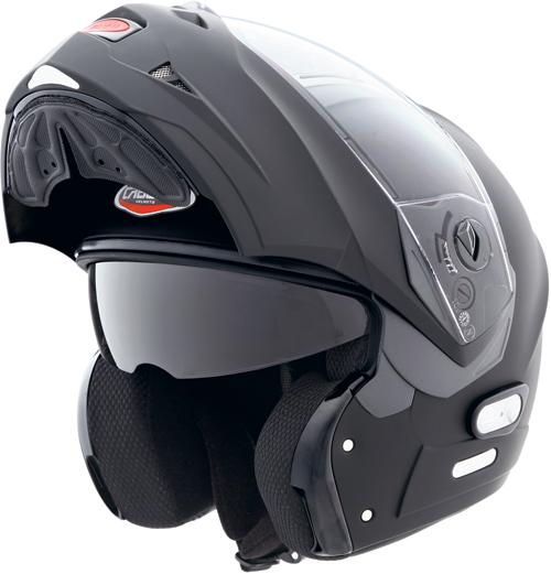 Casco moto Caberg Konda nero opaco