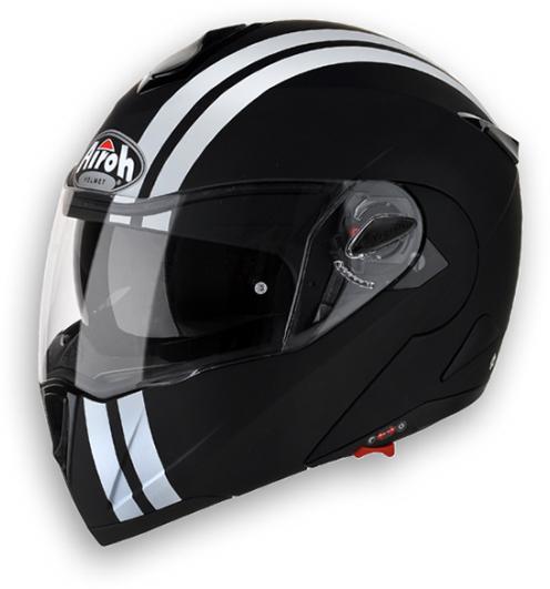 Airoh C-100 Flash modular helmet black matt homol. P-J