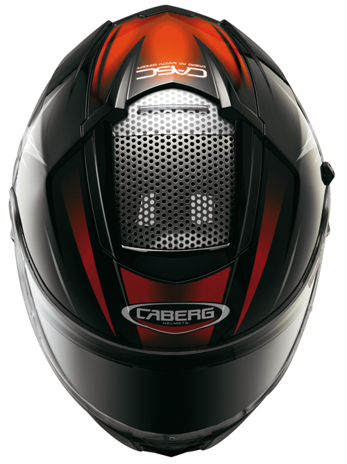 Caberg EGO KUMA full face helmet Black-Red