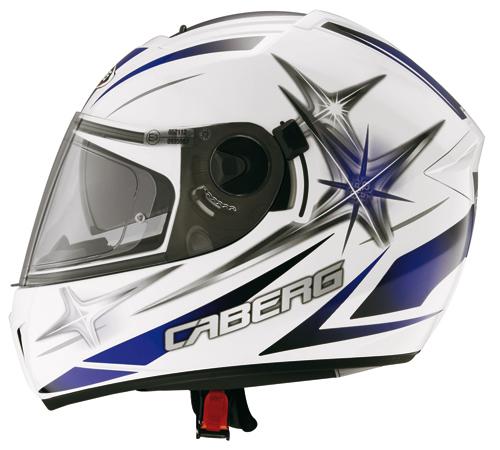 Caberg EGO KUMA full face helmet White-Blue