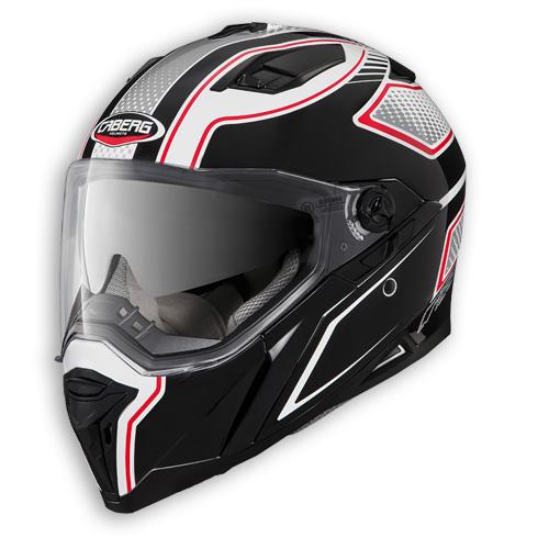 Face helmet Caberg Stunt Blade white black red