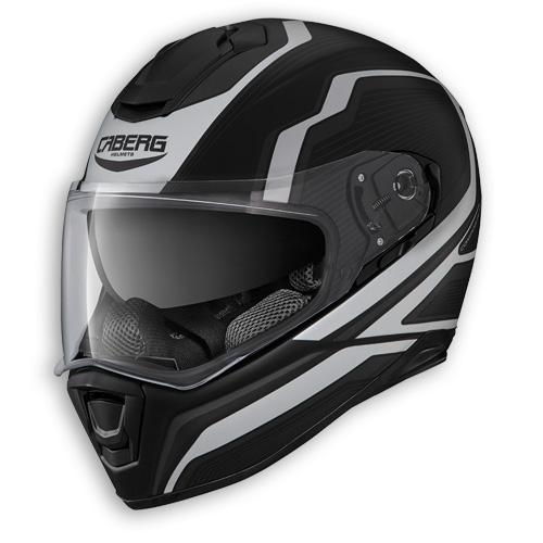 Face helmet Caberg Drift Flux matte black anthracite