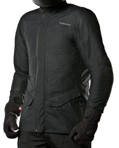 Giacca moto Alpinestars C34 Herringbone Gore-Tex nera