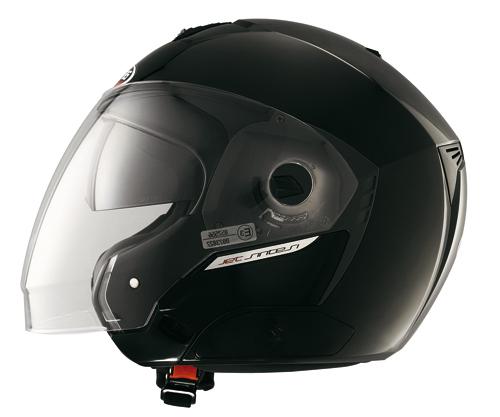 Casco moto jet Caberg SINTESI SmartBlack