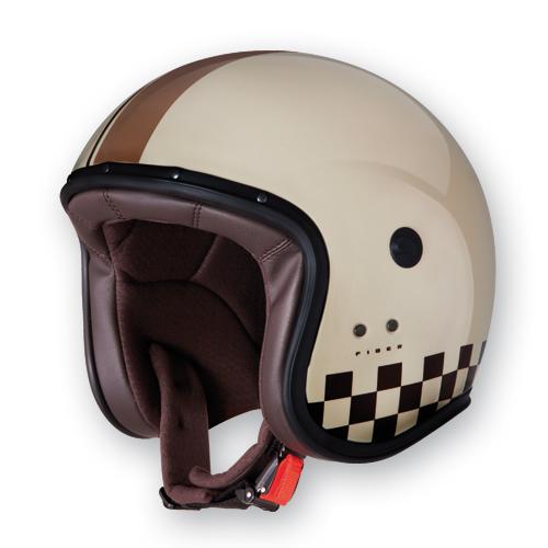 Caberg Freeride Indy jet helmet Cream
