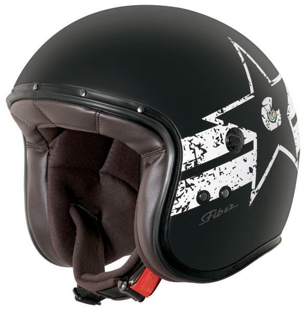Caberg Freeride Soul jet helmet Matt Black White