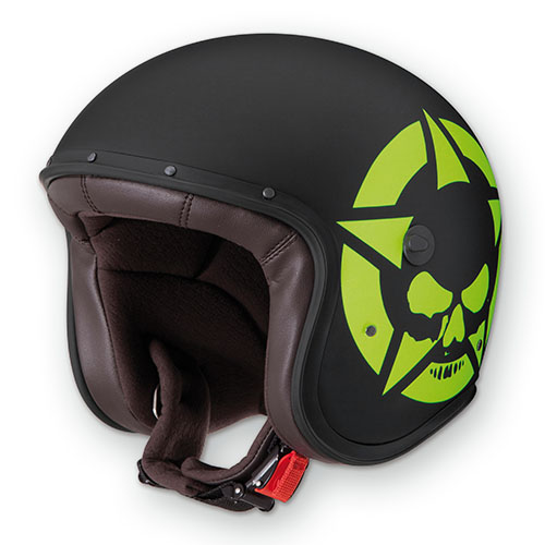 Caberg Freeride Skullvizion jet helmet