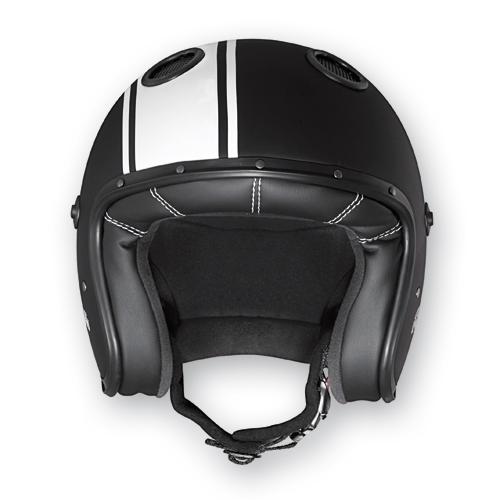 Caberg Jet Helmet Black Matte Black Doom Legend