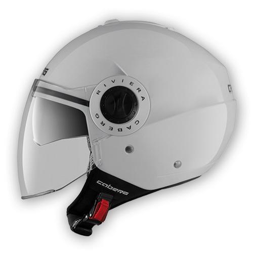 Caberg Riviera V2+ jet helmet White