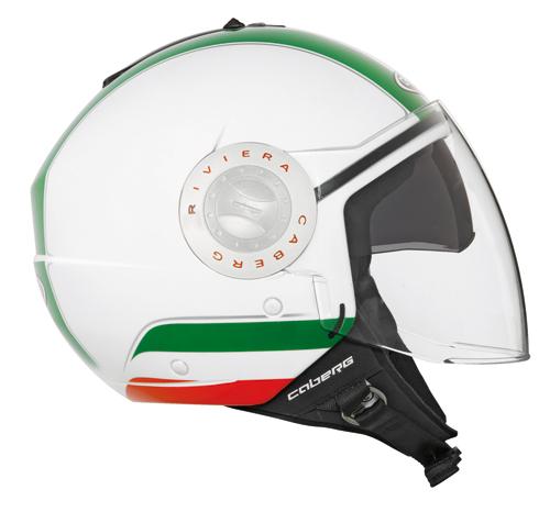 Casco jet Caberg RIVIERA V2+ Italia