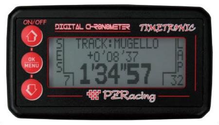 Cronometro digitale moto IR TimeTronic autoalimentato
