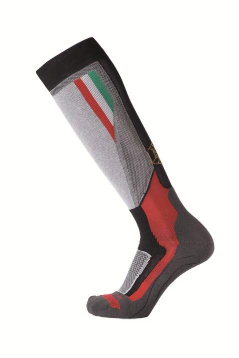 Official ski socks Mico Fisi Medium Black