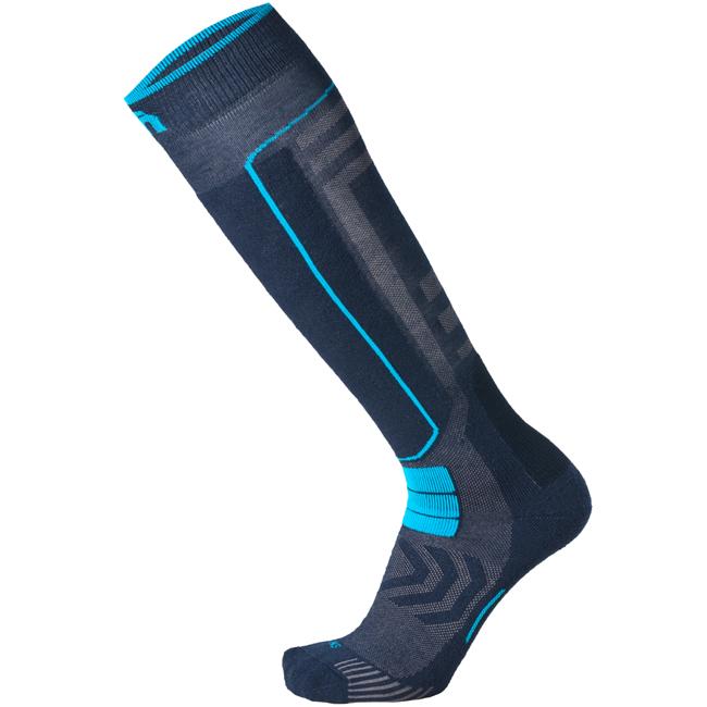 Mico Performance Ski Socks Medium Anthracite Ice