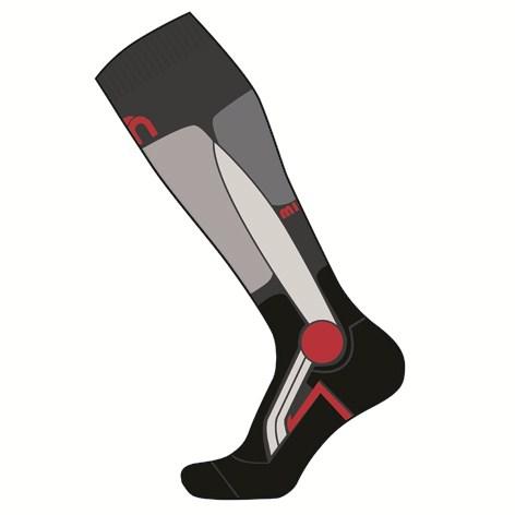 Mico Socks X-Race Anthracite Medium