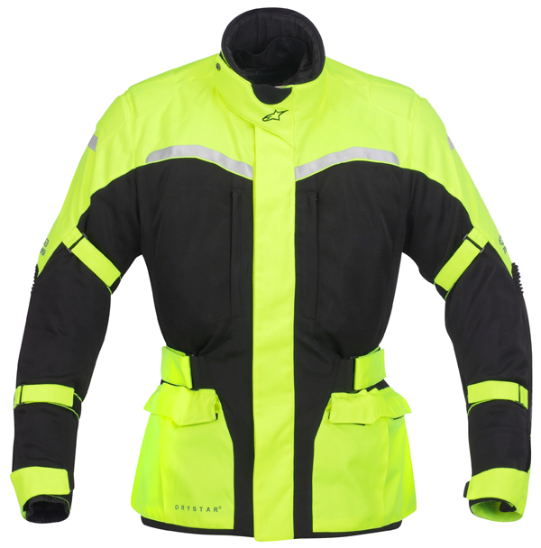 Alpinestars Cape-Town Air Drystar summer motorcycle jacket yello
