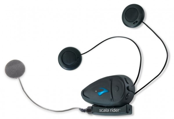Intercom Scala Rider Q2 Pro Corded moto moto 700m