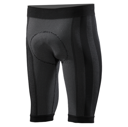 Pantalone intimo ciclista con fondello Sixs Nero