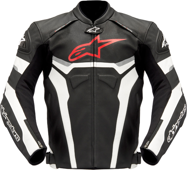 Alpinestars Celer leather jacket black-white