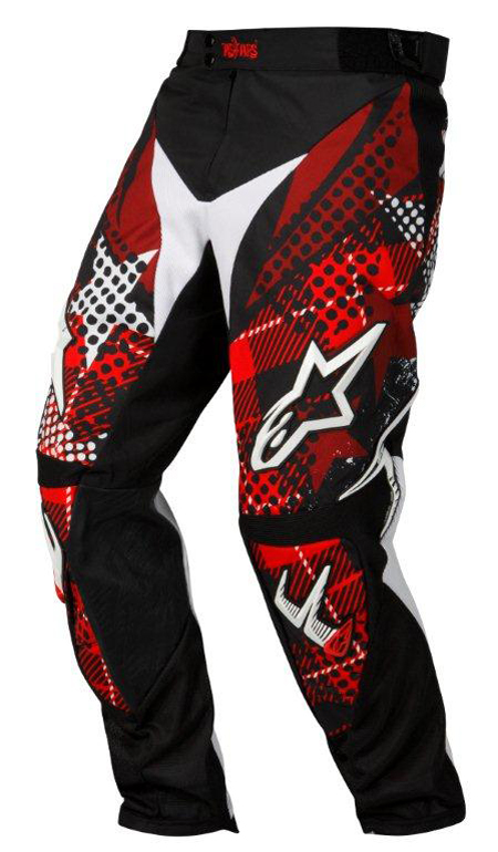 Alpinestars Charger Punk enduro-cross pants black-red