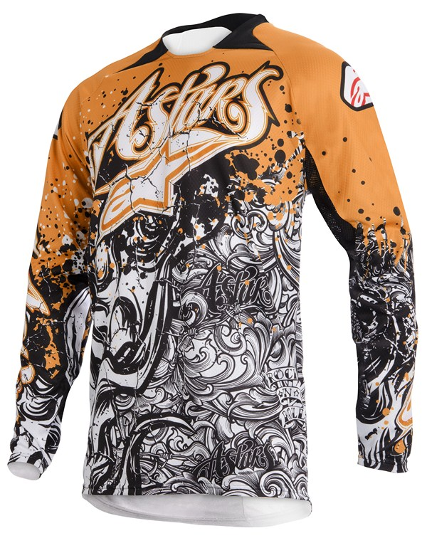 Alpinestars Charger off-road jersey orange black white