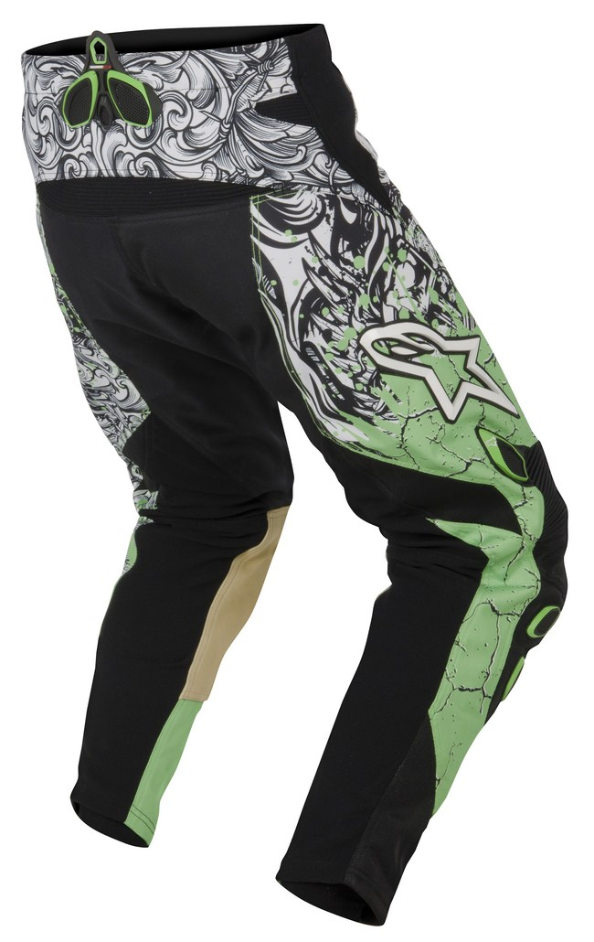Alpinestars Charger off-road pants green black white