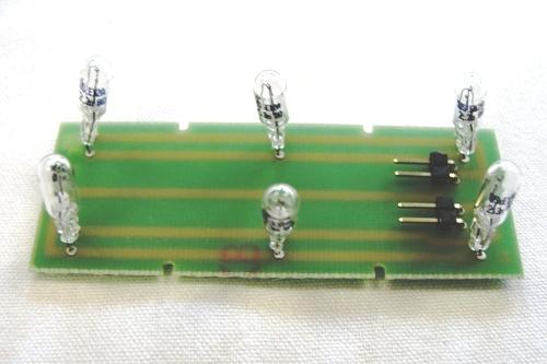 CIRCUITO CON 6 LAMPADINE Givi per E52