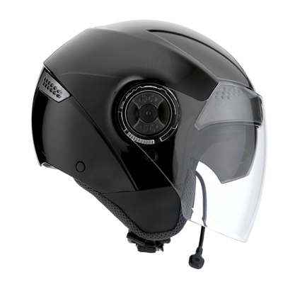 Casco moto Agv Citylight Connect nero lucido