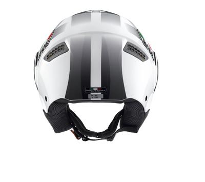 Casco moto Agv Citylight Multi Race bianco-nero