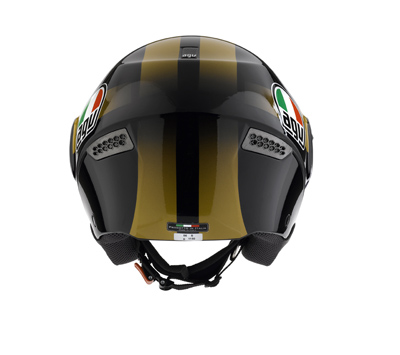AGV Citylight Multi Race Open Face Helmet - Col. Black/Gold