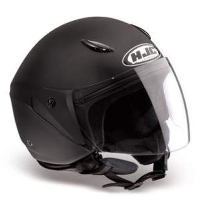 HJC CL25 jet helmet Matt Black