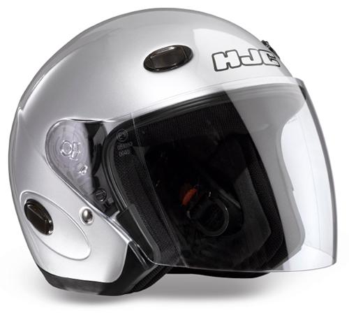 HJC CL33 jet helmet Silver