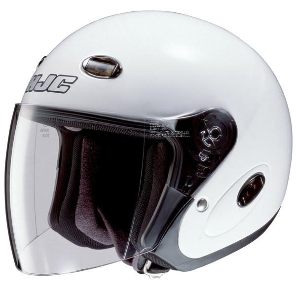 Casco moto jet HJC CL33 Bianco