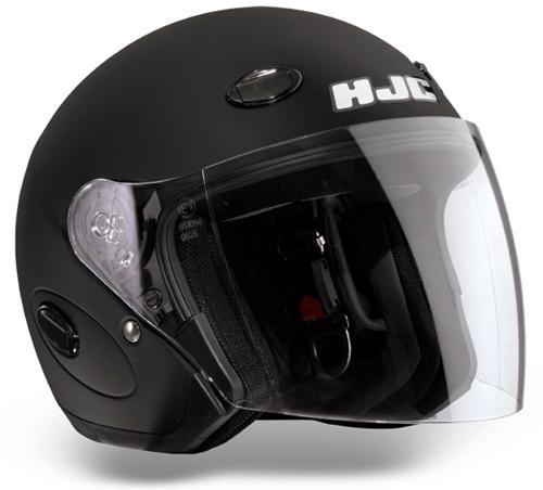 HJC CL33 jet helmet Matt Black