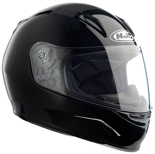 HJC CLY full face kid helmet Metal Black