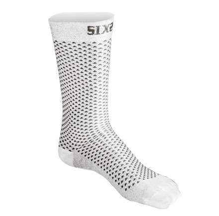 Technical socks compression court Sixs White