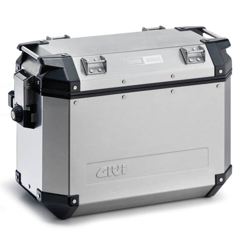 Coppia valigie laterali Givi Trekker Outback 37lt Alluminio