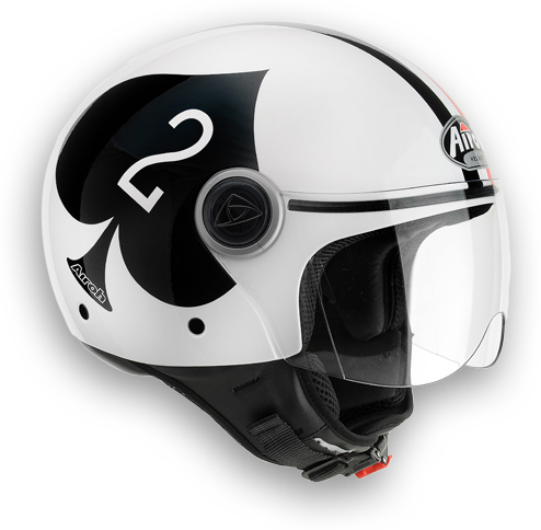 Motorcycle Helmet Compact Aces Airoh