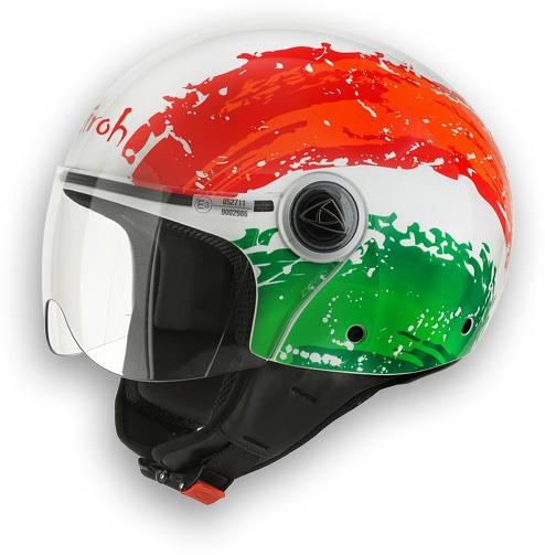 Compact Motorcycle Helmet Flag Airoh