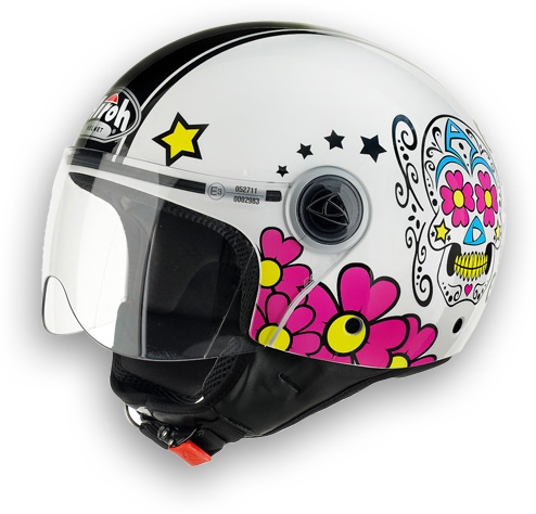 Motorcycle Helmet Compact Mexican Airoh