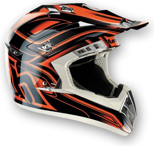 AIROH CR900 Leave MX Helmet - Col. Orange