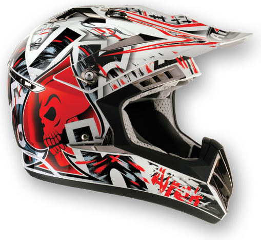 AIROH CR900 Raptor MX Helmet - Col. Red
