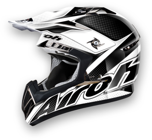 Airoh CR900 Linear off-road helmet black